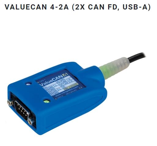 ValueCAN4-2A (2x CAN FD, USB-A)
