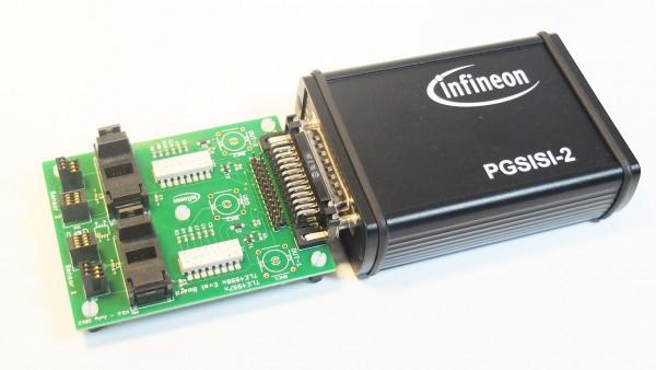 PGSISI sensor laboratory programmer kit for the linear Hall TLE4998 family