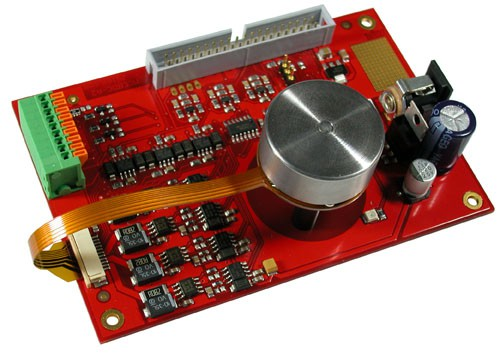 DC motor control board with BLDC motor