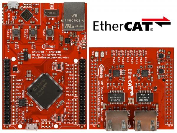 XMC4800 Relax EtherCAT Kit / KIT_XMC48_RELAX_ECAT_V1