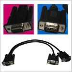 ValueCAN3 Y Kabel zu 2 x DB-9