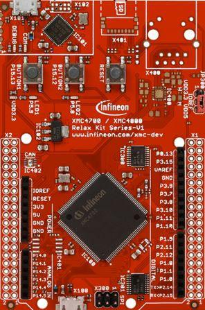 XMC4700 Relax Kit for 5V Shields / KIT_XMC47_RELAX_5V_AD_V1