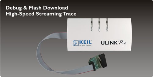 ULINKpro Debug and Trace Unit