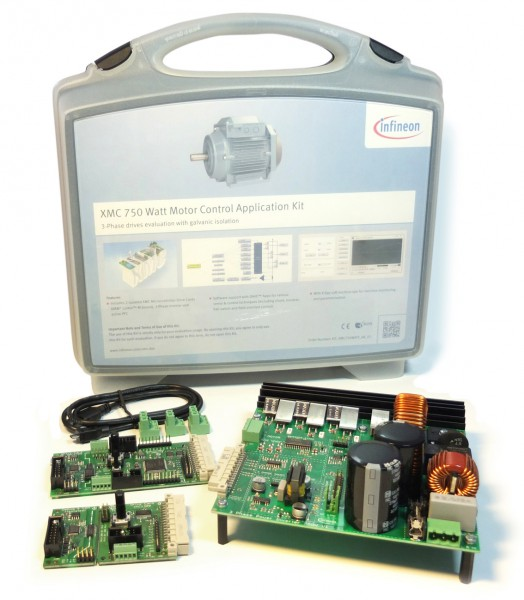 XMC 750 Watt Motor Control Application Kit