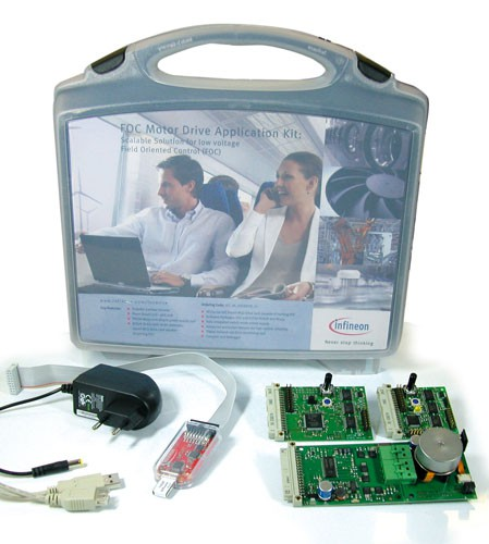 FOC Motor Drive Application Kit