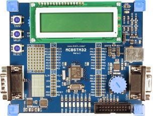 MCBSTM32 Evaluation Board and Starter Kit