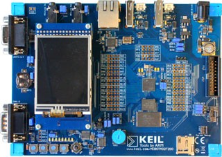 MCBSTM32F400 Evaluation Board