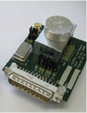 Evaluation board for the angle GMR Device TLE5011