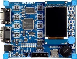 MCBSTM32EXL Evaluation Board and Starter Kit